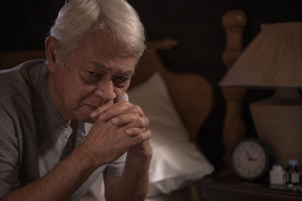 Night fright in senior citizens